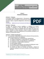D.L.N° 1017-Ley de Contrataciones del Estado Actualizado