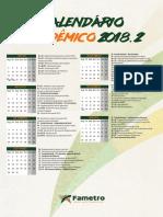 Calendárioa Acadêmico Fametro 2018.2