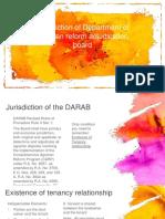 Land Titles and Deeds Juris of DARAB