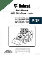 Bobcat S160 Parts Manual