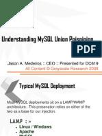 SQL Injection Presentation