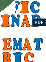 Letras Modelo