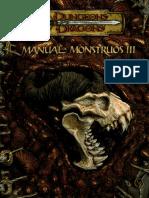 D&D Manual De Monstruos Iii 3.5 (Esp).pdf