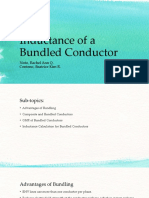 Inductance of a Bundled Conductor