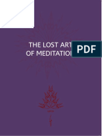 The Lost Art of Meditation - Godfrey Devereux