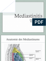 Mediastinitis