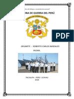 Caratula Marina de Guerra 2018 del perù