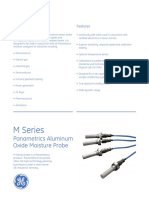 m Series Aluminium Oxide Moisture Probe English