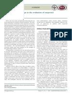 Rol de La Endoscopia en La Sospecha de Coledocolitiasis
