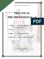 Instituto Superior Pedagógico Público Caratula 2018