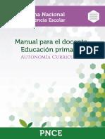 Manual Docente Autonomia Curricular