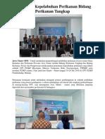 Berita Juli, Fasilitasi Nelayan Tuna Provinsi Jawa Timur