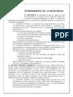 b.- t. Metodologia Del Entrenamiento Del Res.