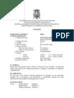 Ecologia Animal Plan 2003, Prof. Irma Franke, Sem 2014-2