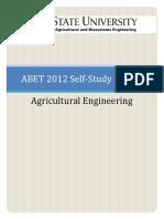A E 2012 Self Study Report