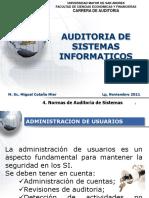 4. Normas de Auditoria de Sistemas