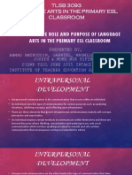 Role and Purposes of Language Arts