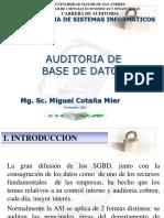 9. Auditoria de Base de Datos