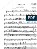 Mendelssohn - Violin Concerto in E Minor Op