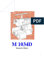 Masina de Surfilat Brother 1034d Manual
