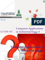 Lecture07_ComputerApplicationsIE1_DrAtifShahzad.ppsx