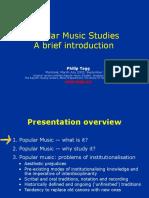 Philip Tag - Popular music Studies
