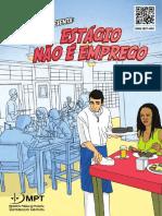 MPT Em Quadrinhos 5 - Estágio Não é Emprego