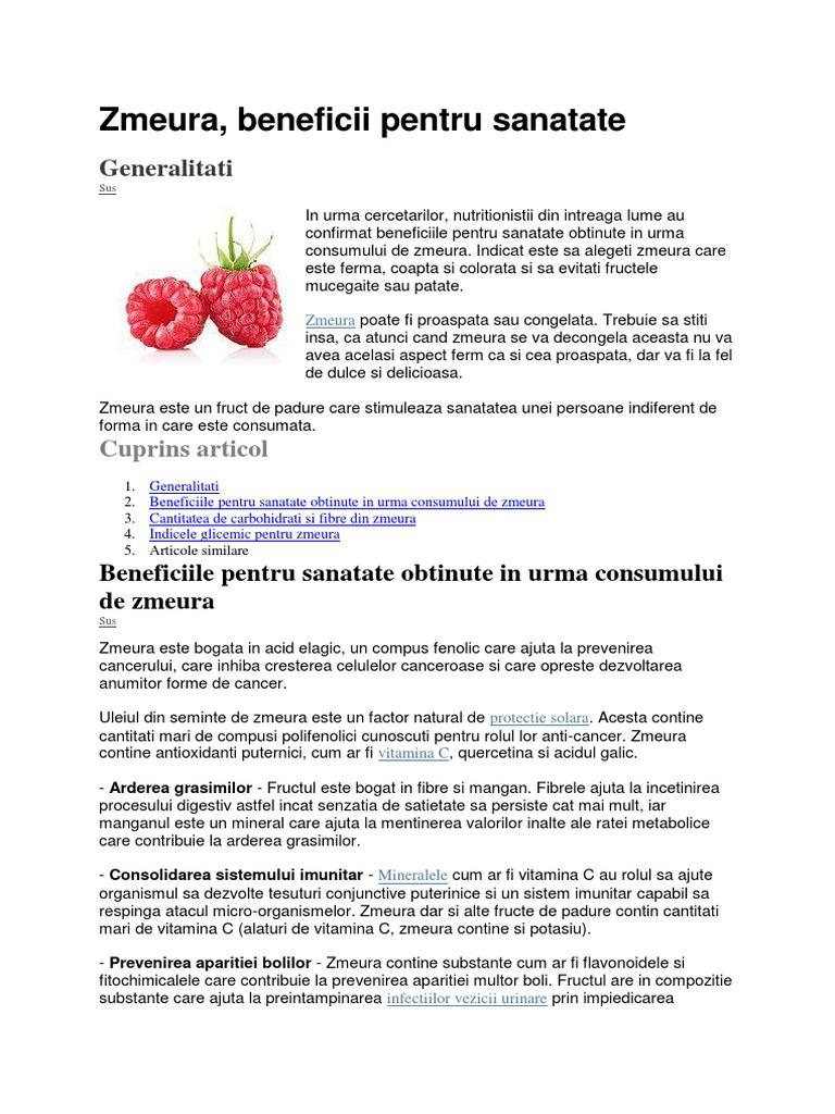 fructele de padure ajută la arderea grăsimilor
