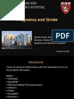 pregnancy and stroke