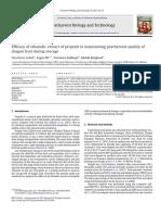 Efficacy  of  ethanolic  extract  of  propolis
