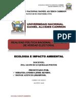 Realidad Politica Nacional - Resumen - Eia2018