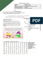 Guia de desarrollo sistema circulatorio evaluada 5° Basico A-B