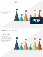 The Secret of Creating Custom Chart Design in Microsoft PowerPoint PPT Flat Chart Design