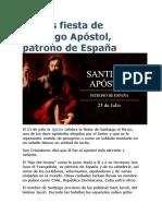 Hoy Es Fiesta de Santiago Apóstol