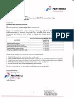Price List BBM Periode II Mar 2018
