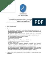 Economía Sustentable (Eduardo Casas)
