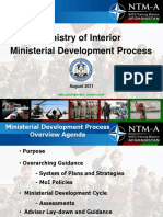 Advisor Course MOI Ministerial Development - ACG-PD Brief Version Aug 15 2011