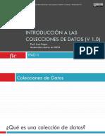 1 - Introducción a Las Colecciones de Datos v1.0