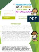 PresentacionSemanaNacionalActualizacionMEEP