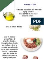 Ajo+Aceite de Oliva= 20 Kilos Menos Prenderaudio