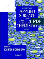 Handbook of Applied Surface and Colloid Chemistry - Volume 1