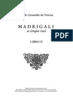 gesualdo - madrigals