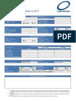 Data sheet Lact