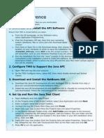 Java API Quick Reference