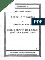 66.- Lógica y Derecho - Norberto Bobbio.pdf