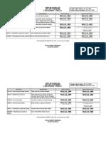 Mapa de provas 1º ano noturno FD-USP
