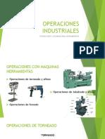 Operaciones Industriales - Operaciones Con Maquinas Herramiemtas