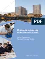MCA Distance Learning Brochure 2016 Glascow College