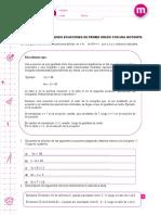 Ecuaciones 6 Basico