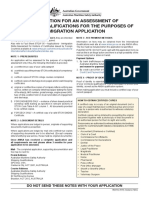 AMSA12- Seafarer Qualification Assessment Form